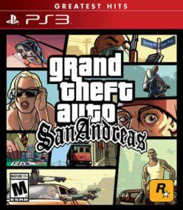 Grand Theft Auto San Andreas ROM